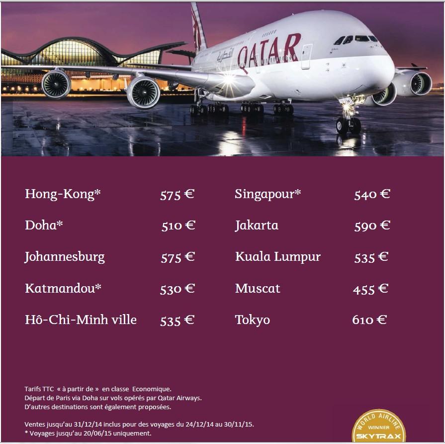 offres qatar 2015